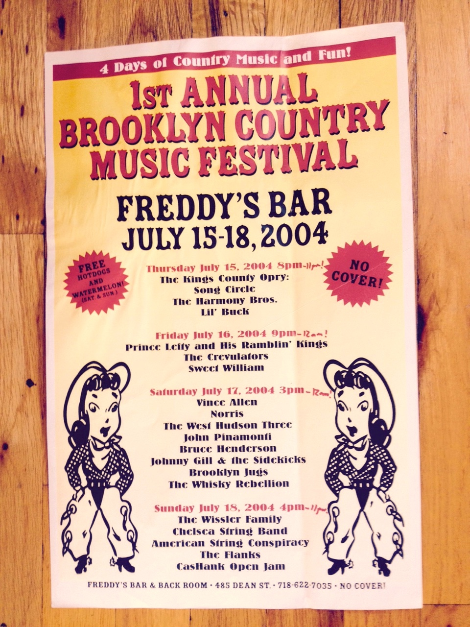 1st Brooklyn Country Music Festival