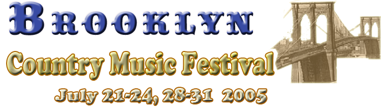 2nd brooklyn country music festival