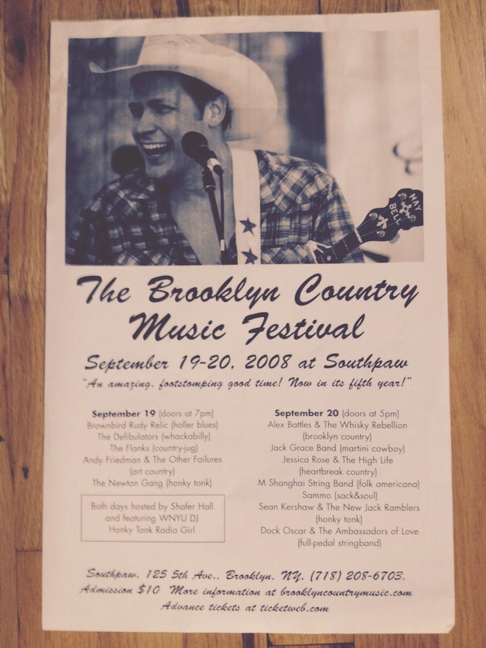5th Brooklyn Country Music Festival