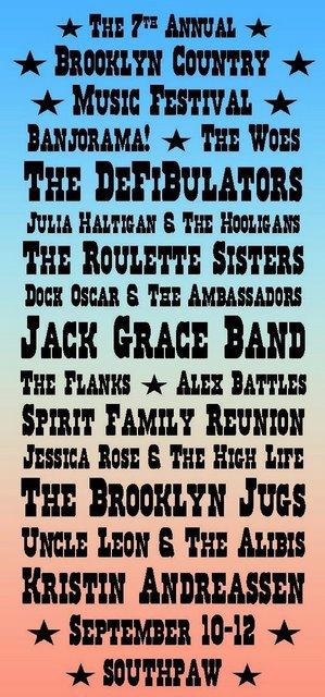 7th Brooklyn Country Music Festival