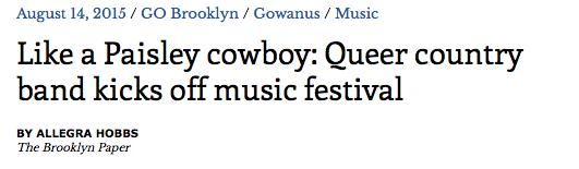 Brooklyn Paper Listing