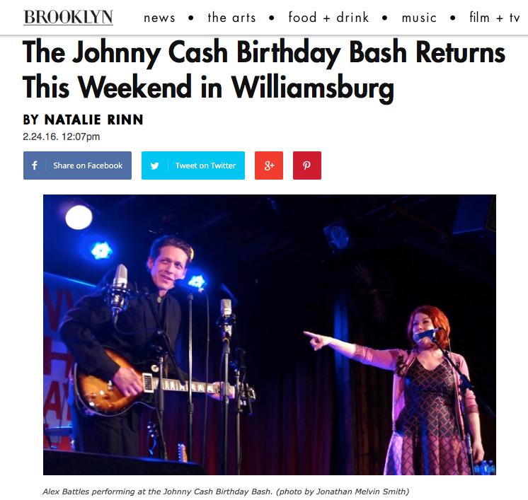 Brooklyn Magazine - Johnny Cash Birthday Bash